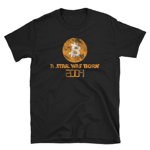 Vintage A Star Was Born Bitcoin T-Shirt-CryptoClothe