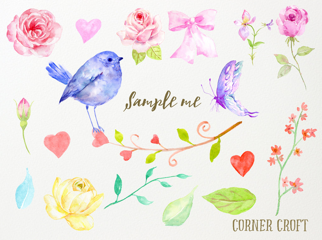 Free Sample of Watercolor Illustration