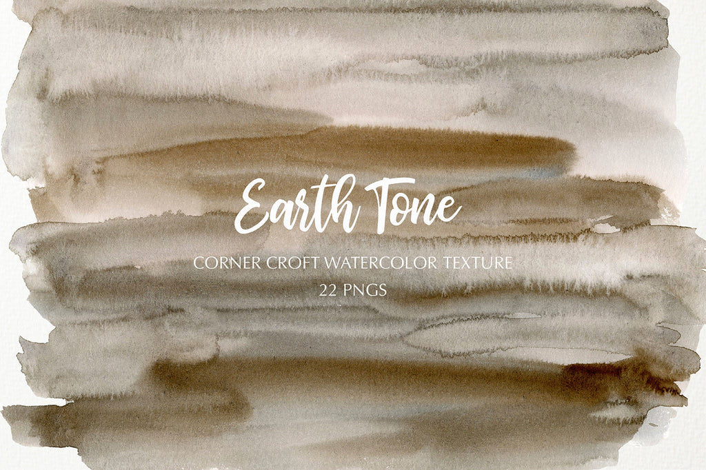 Watercolor texture earth tone, yellow, beige and brown texture instant download