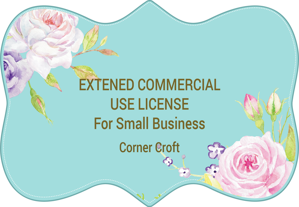 Small Business Use License for Corner Croft Digital Product