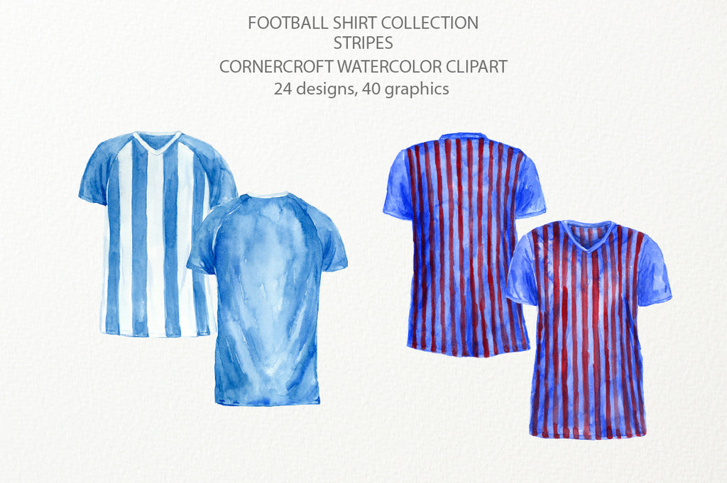 front of football shirt, back of football shirt, instant download