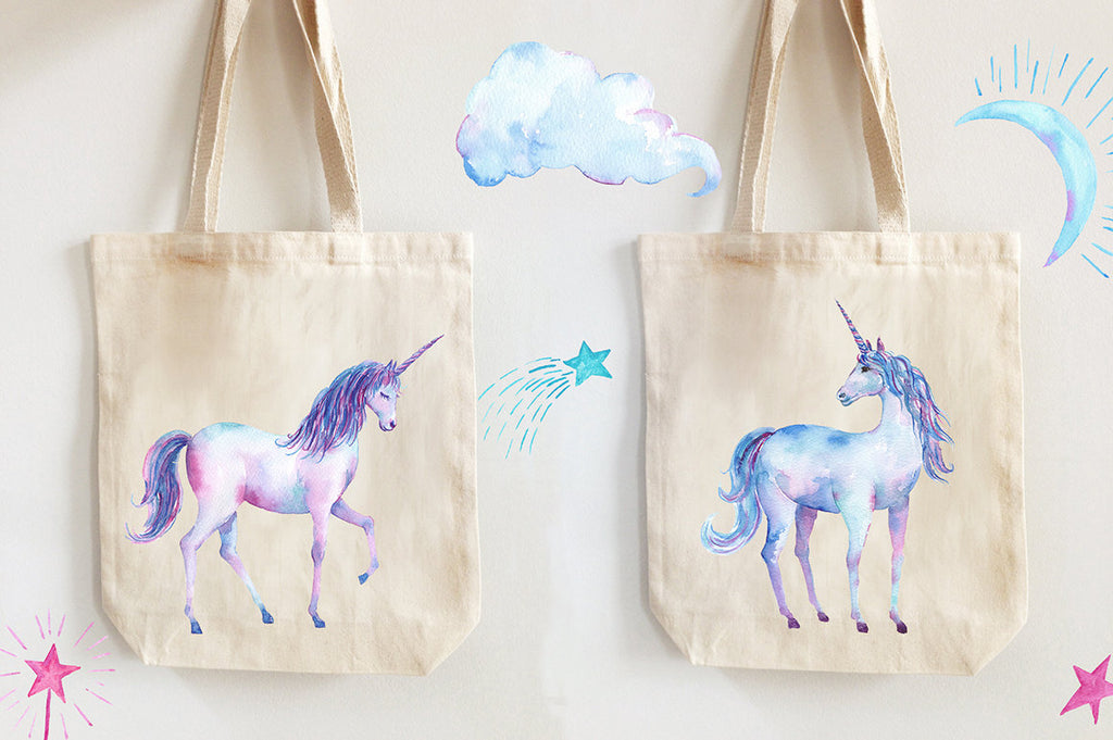 cute unicorn, watercolor unicorns, beautiful unicorn, nursery print