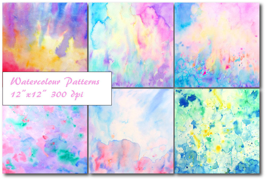 watercolor abstract texture, watercolor art, modern art print