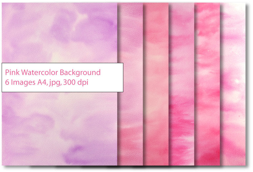 watercolor texture, pink, purple, free commercial use, instant download