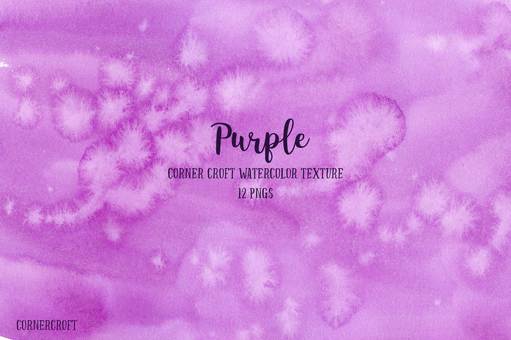 watercolor background and texture in purple colour scheme