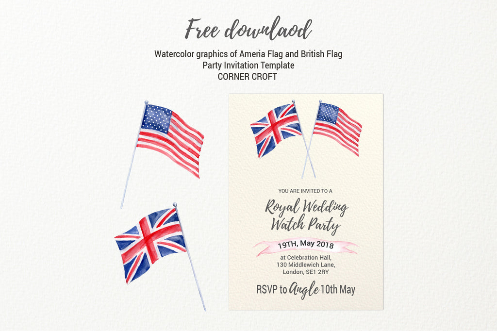 "oyal wedding party template, size 5""x7"", editable pdf file"