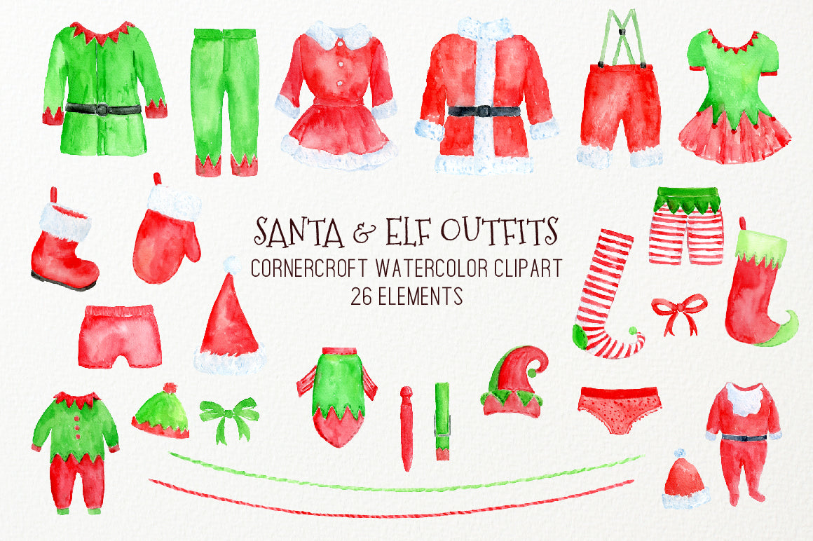elf clothes template www