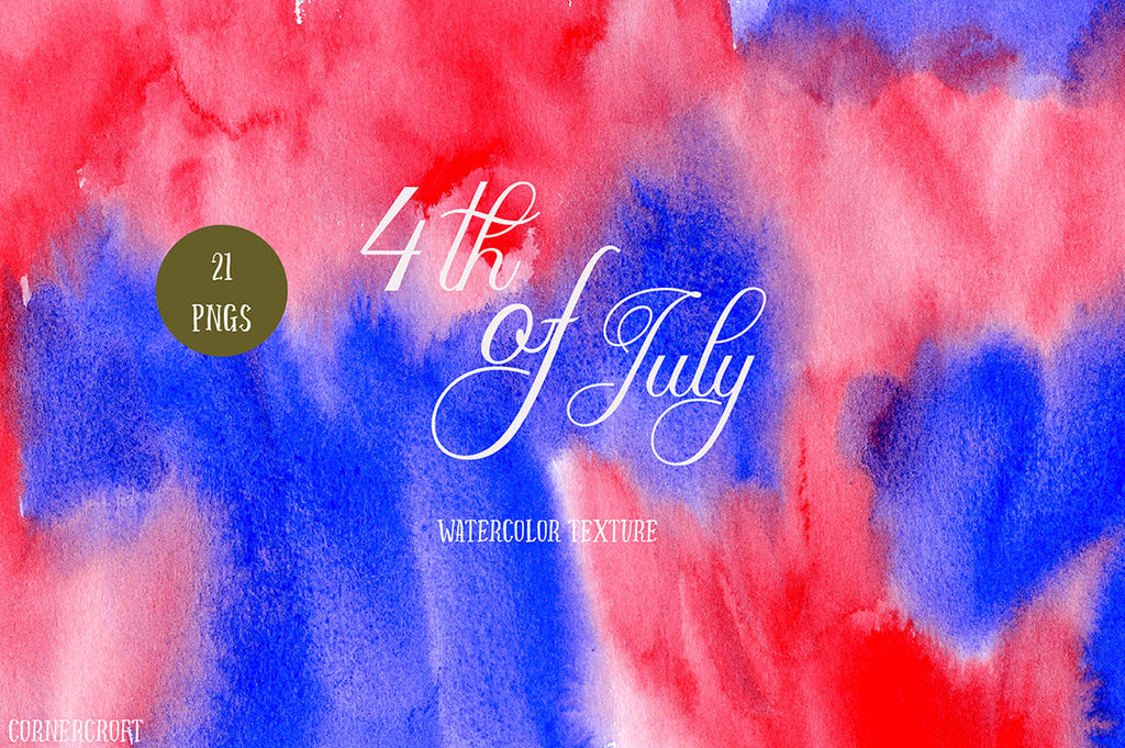 watercolor texture red and blue, instant download