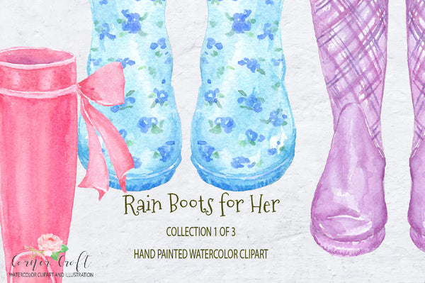 watercolor rain boots for her floral wellies wellington