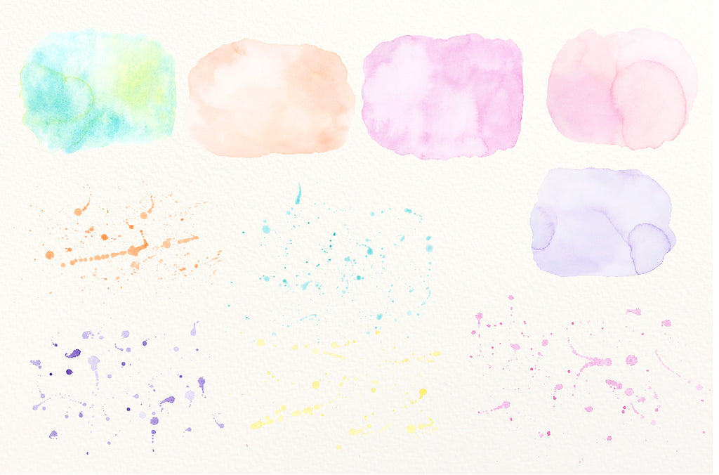 watercolor texture background, pastel color, watercolor clipart