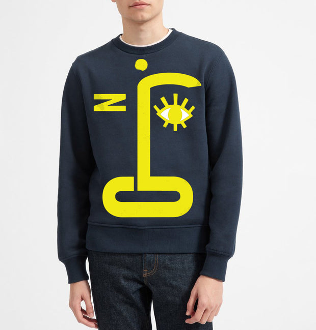 One Eye Jack Adult Sweatshirt