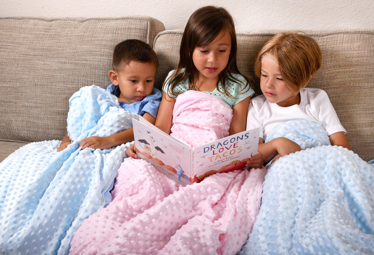BlanQuil Weighted Blanket for Kids