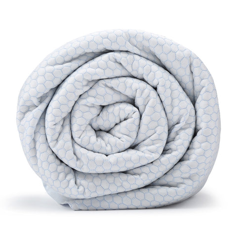 BlanQuil Chill - Cooling Weighted Blanket W/ Removable Cover