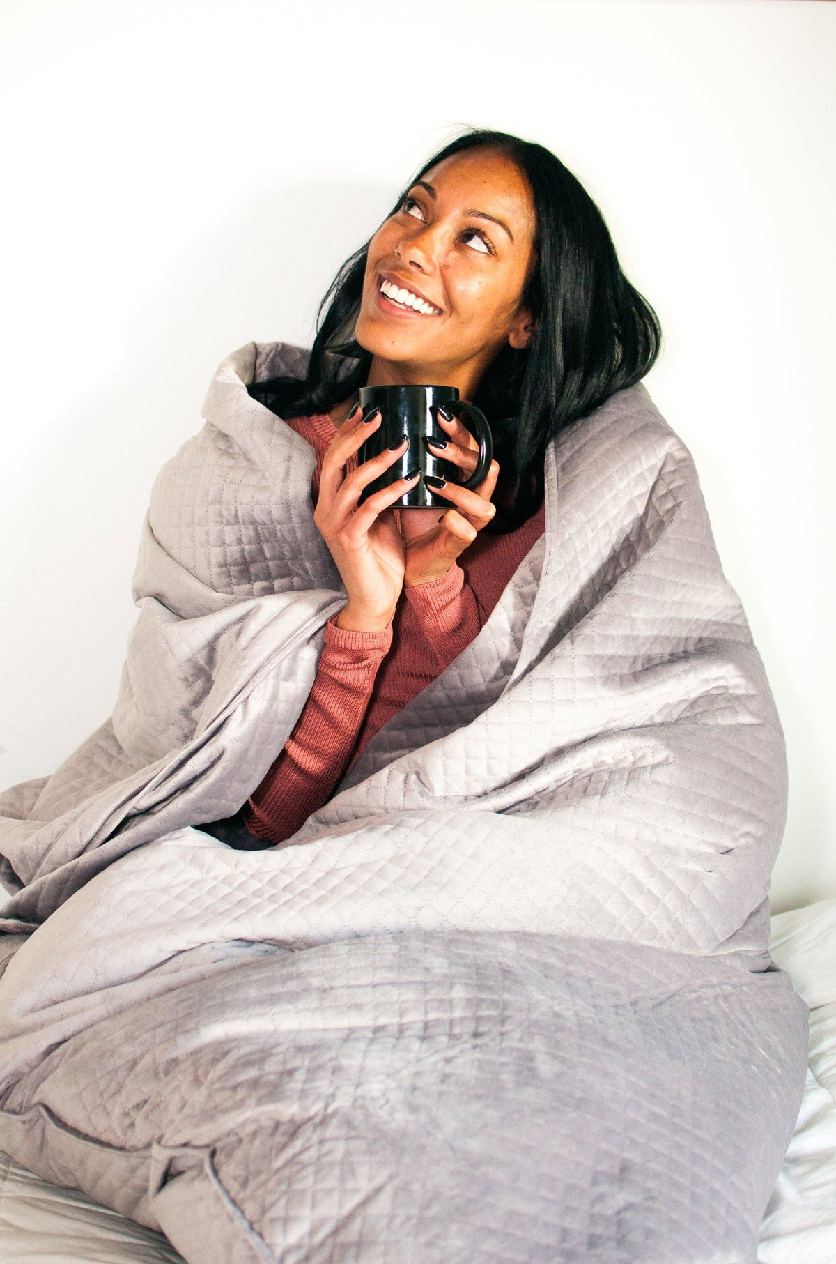 BlanQuil Premium Weighted Blanket - Nesting With Grace