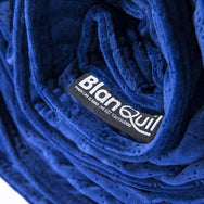 BlanQuil Premium Weighted Blanket Special Edition Graphite and Cobalt