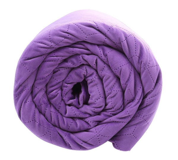 BlanQuil Purple Weighted Blanket