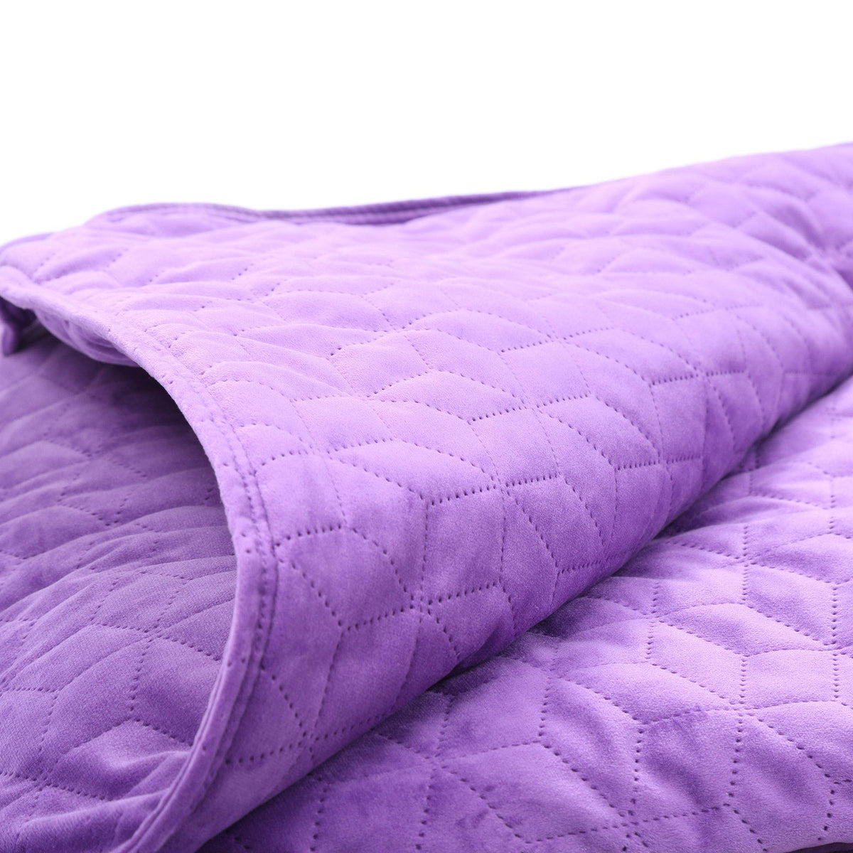 BlanQuil Premium Weighted Blanket Special Edition Lilac And Pearl