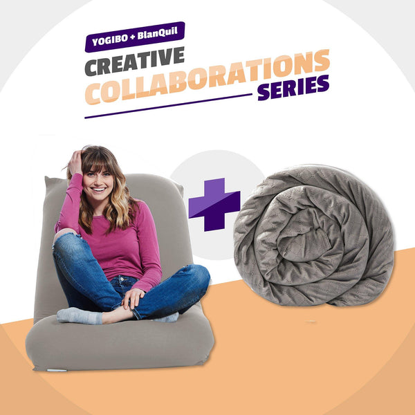 Weighted Blanket & Zero-Gravity Bean Bag Bundle