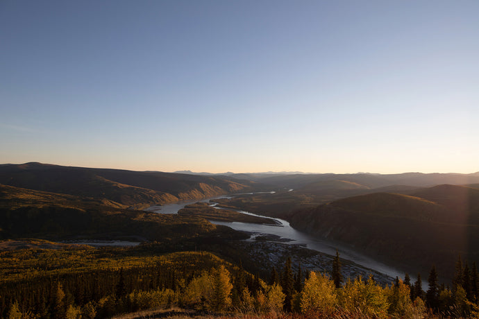 Dome Road. Dawson Yukon.