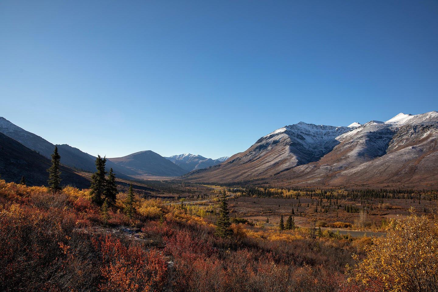 Fall in Tombstone II. Yukon.