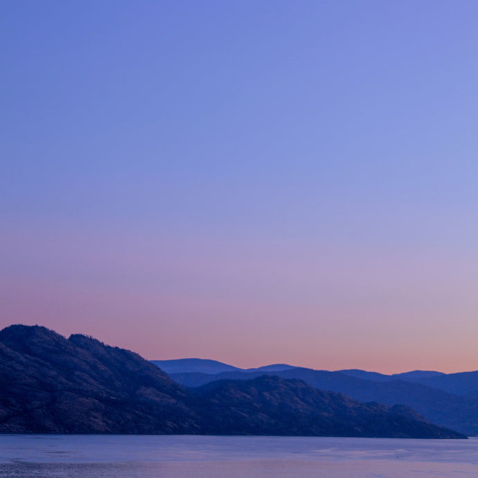 Blue Hour Okanagan Lake