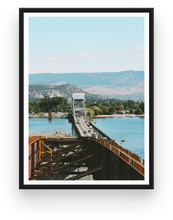 Kelowna New Bridge Construction