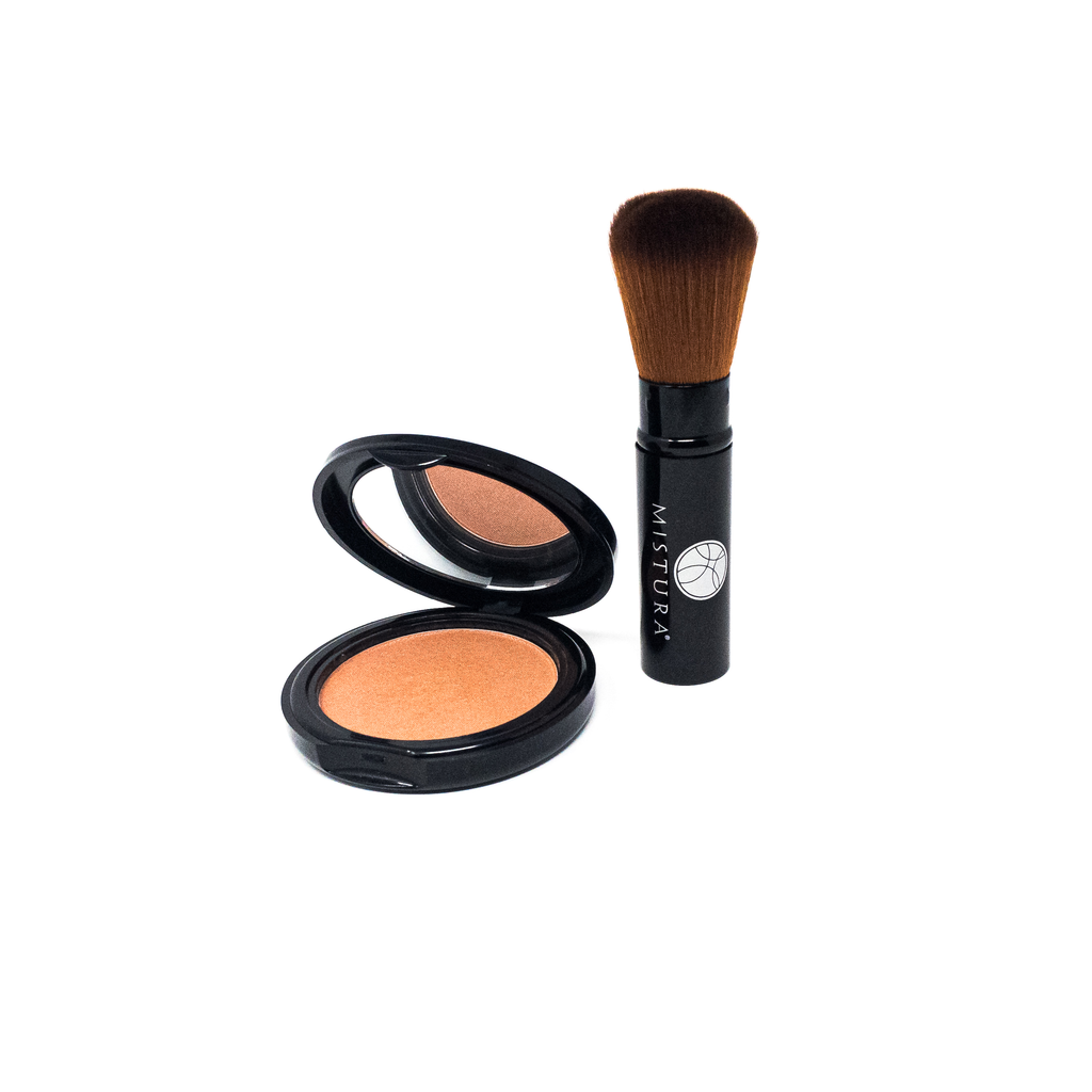 Kit and bundle collection regular kit 6-ini1 compact and retractable brush by Mistura Beauty