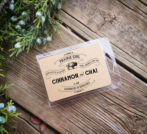 Cinnamon & Chai Melt - Prairie Girl Candle Co