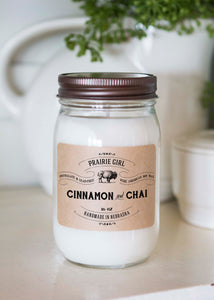 Cinnamon & Chai - Prairie Girl Candle Co