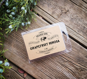 Grapefruit Mimosa Melt - Prairie Girl Candle Co