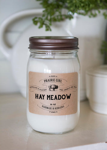 Hay Meadow - Prairie Girl Candle Co