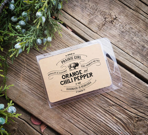 Orange & Chili Pepper Melt - Prairie Girl Candle Co