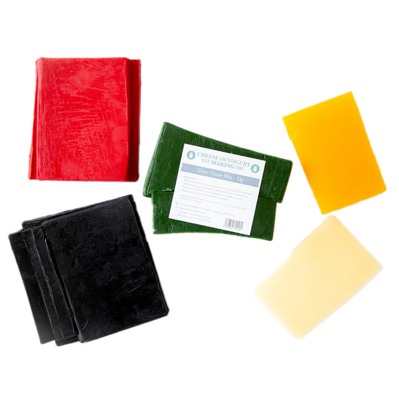 CHEESE WAX SET OF 3 X 1LB- CHOOSE FROM 5 COLORS!