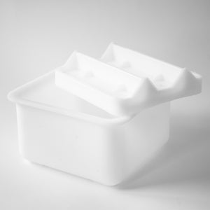 CHEESE MAKING MOLD 36, MINI SQUARE PAN