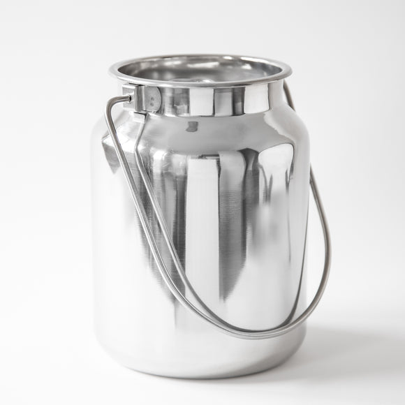 STAINLESS STEEL ECONOMY MILK CHURN