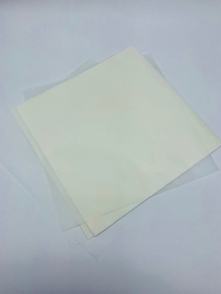 WAXED KRAFT PAPER FOR WRAPPING CHEESE - 100 SHEETS