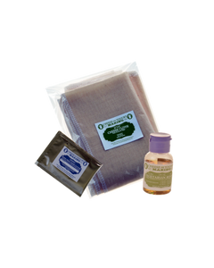 ECONOMY CHEESE KIT 1- LIQUID RENNET 1OZ (CHOOSE ANIMAL OR VEGETABLE), MESOPHILIC CHEESE CULTURE, CHEESE CLOTH