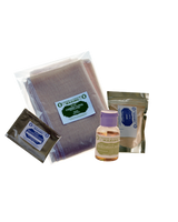ECONOMY CHEESE KIT 2- LIQUID RENNET (CHOOSE ANIMAL OR VEGETABLE), MESOPHILIC CHEESE CULTURE, CHEESE CLOTH, LIPASE 3OZ