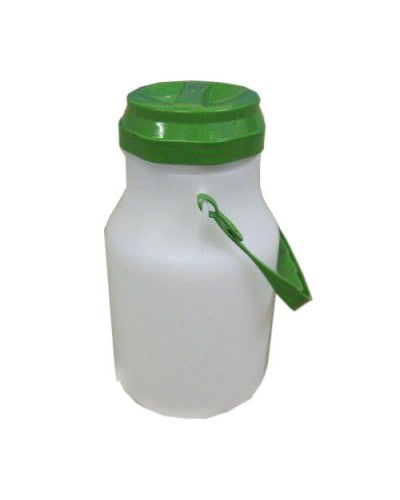MILK CHURN - MINI CONTAINER WITH SCREW LID, 2 LITER (OVER 4 US PINTS) CAPACITY
