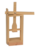 WOODEN (DEAL) CHEESE PRESS FOR CHEESE MAKING