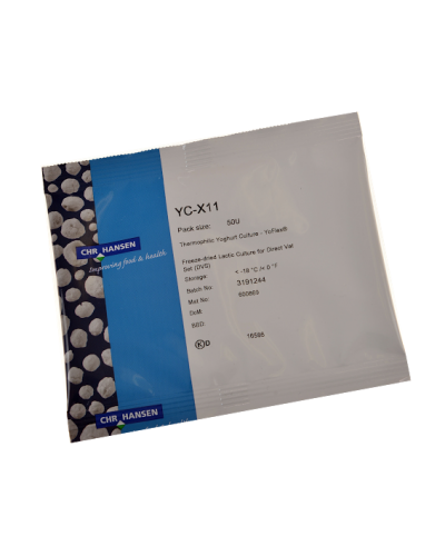THERMOPHILIC YOGURT CULTURE YC-X11 (50U) FOR MILD YOGURT