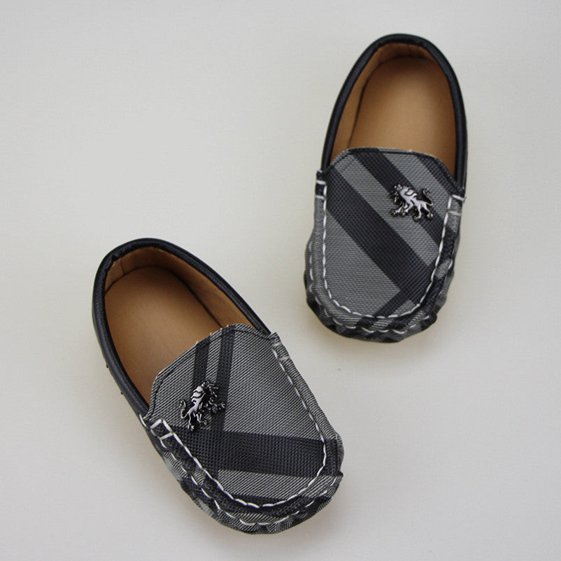 Spring Casual Leather Moccasins