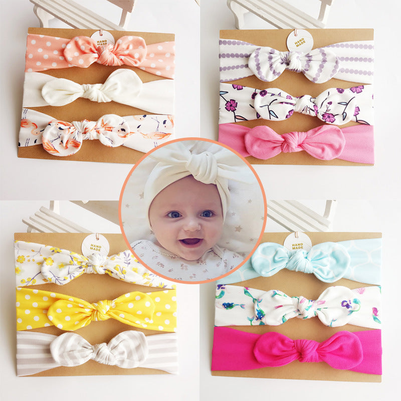 Bright Baby Headband Sets (of 3)