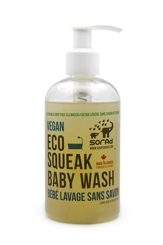 Eco Squeak Baby Wash