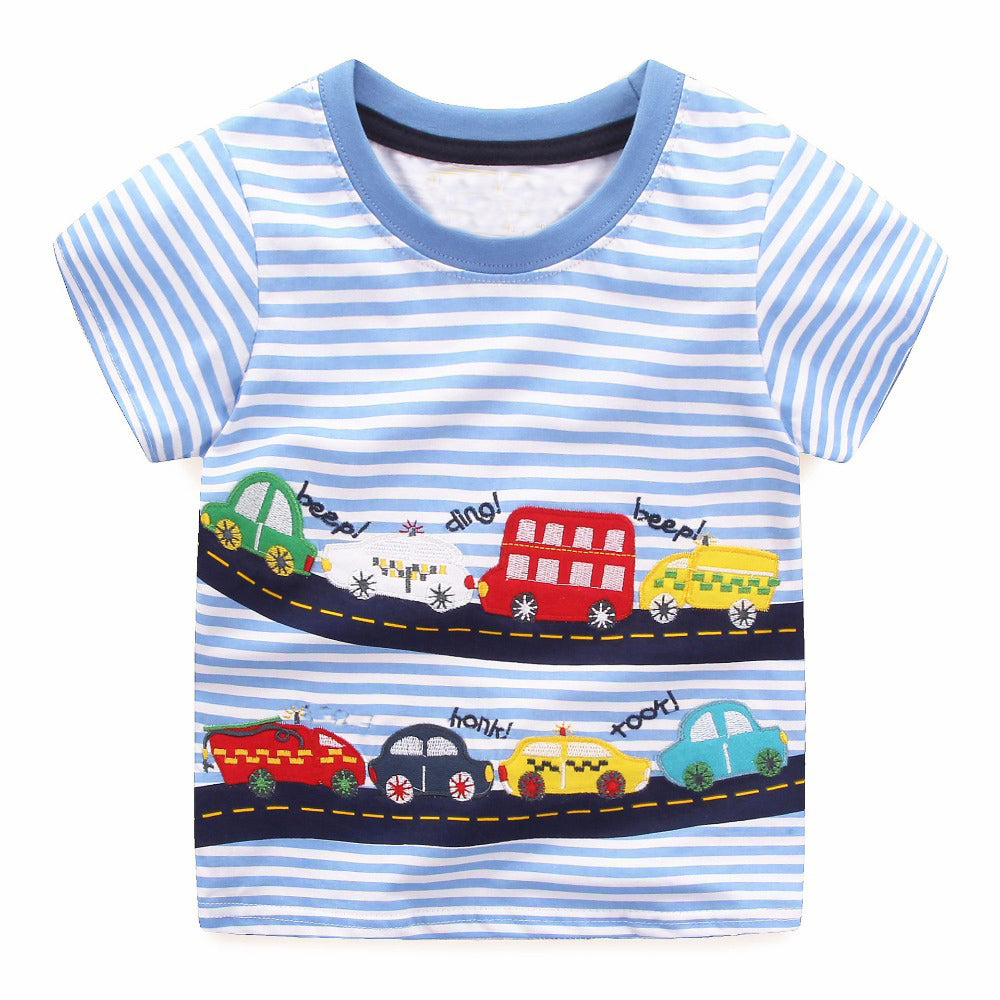 Boys Summer Tops - 18M to 6Y