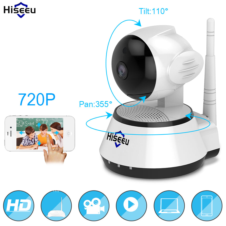 Hiseeu FH2A Wireless Smart WiFi Camera with Audio Record