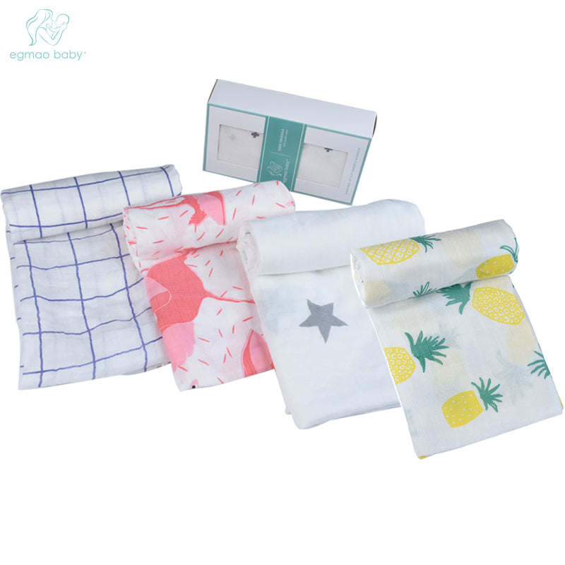 Organic Cotton Baby Swaddle (Muslin)