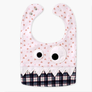 Big Eye Monster With Cute Teeth Bib