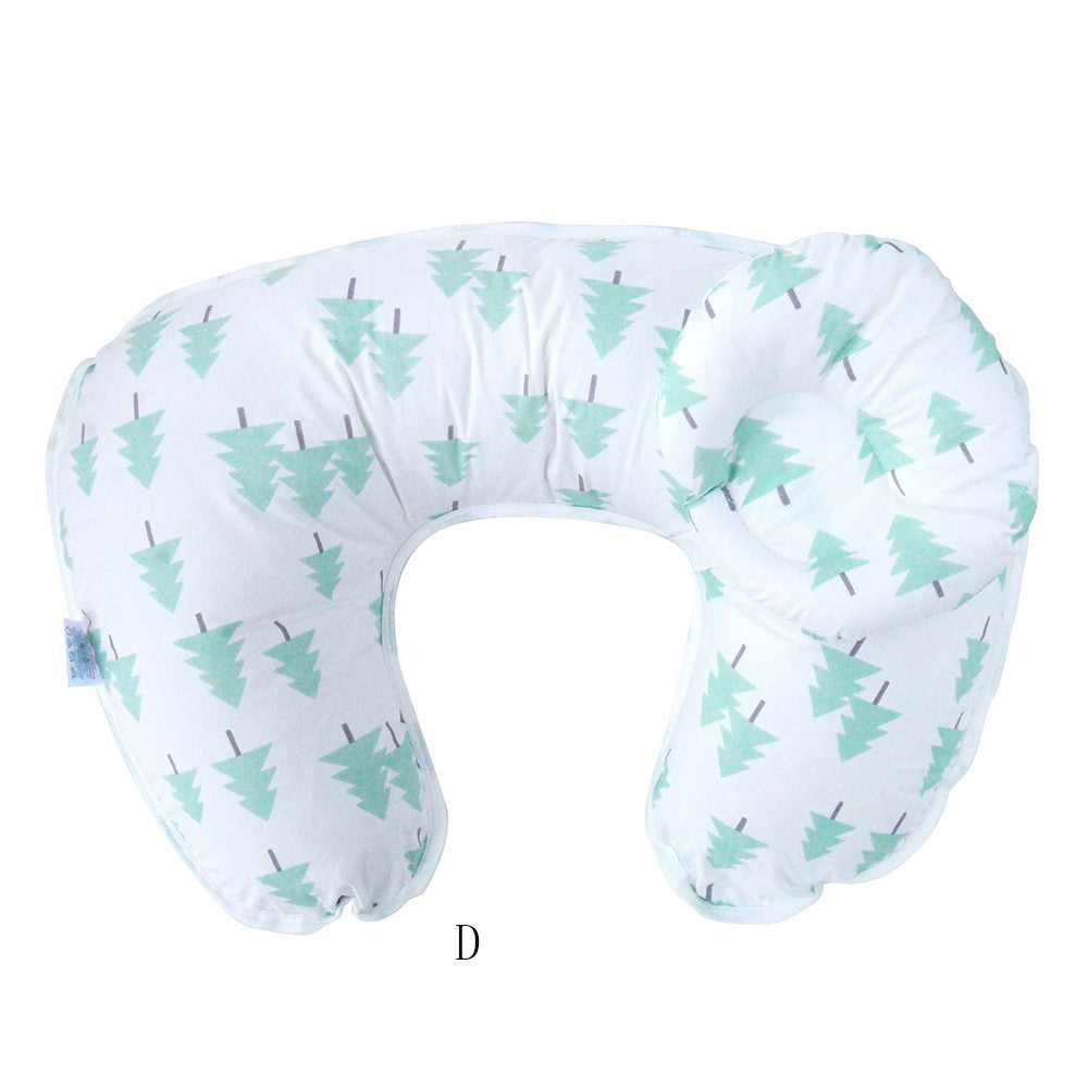 Nursing Support Pillow with Baby Head Rest