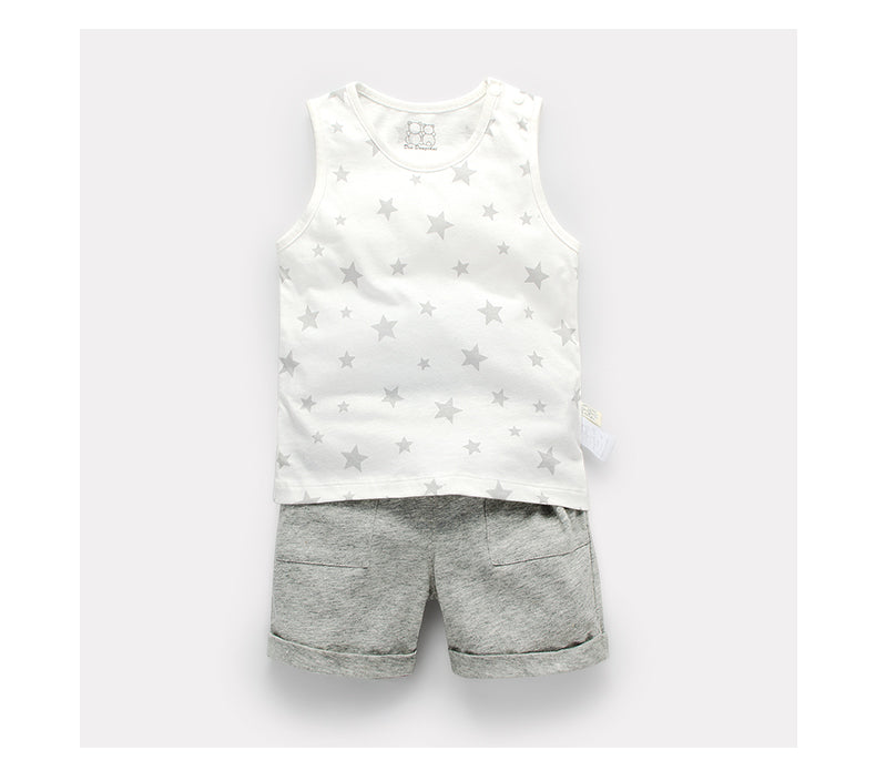 Starry Tank and Shorts Set